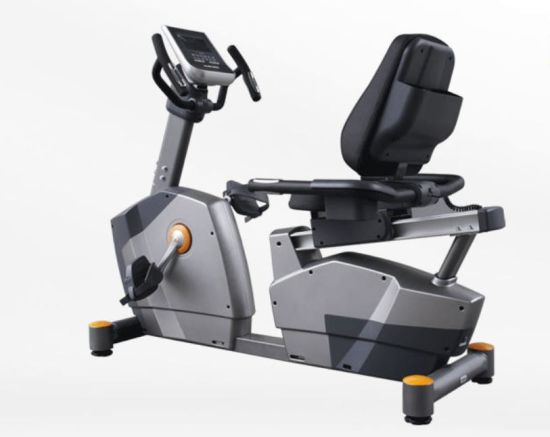 Gym Fitness Equipment Exercise Bike High Power Flywheel Magnetic Recumbent  Bike