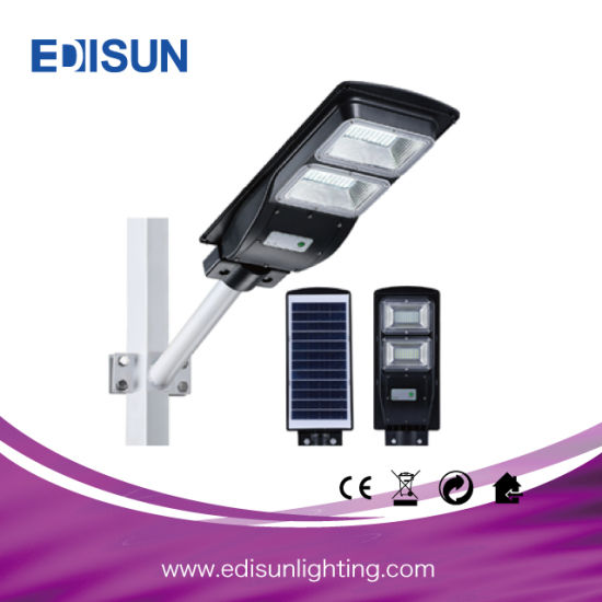 Outdoor Lighting 5 Years Guarantee Garden Road Lamp Integrated LED Solar Street Light