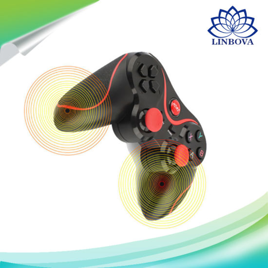 Bluetooth Wireless Phone Gamepad Joystick Controller for PS3/Smart Phones/TV Box/Tablet PC pictures & photos