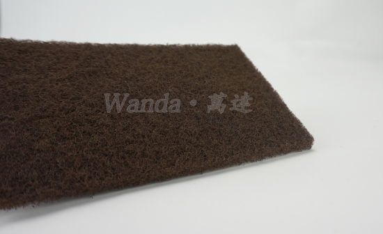 Stong Detergency Brown Floor Abrasive Brush Pad Scrub Pad pictures & photos