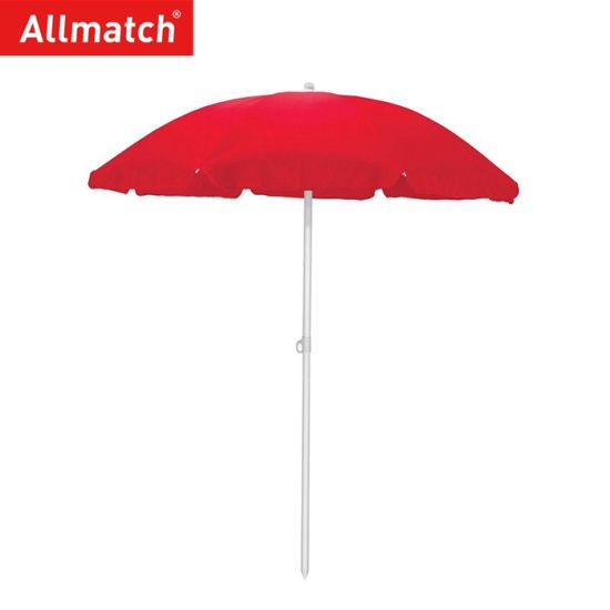 UV Protection Aluminum Beach Umbrella with Anchor