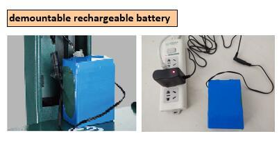 Demountable Rechargeable Battery Heavy Duty Scale Weighing Scale Digital Scale pictures & photos