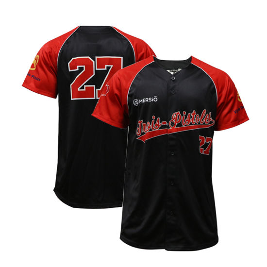 Tackle Twill Wholesale Baseball Jersey Customize Printing Baseball Uniform Style Shirt, pictures & photos