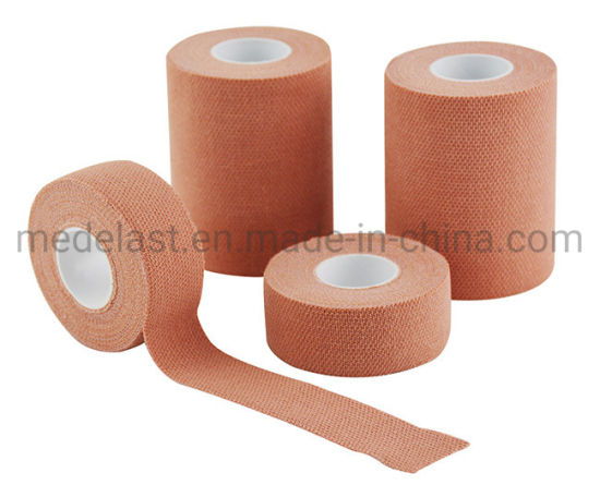 Elastic Adhesive Bandage for Medical Use or Sports pictures & photos