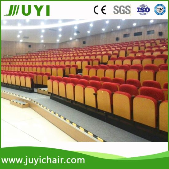 New Wholesale China Fabric Folding Portable Grandstand Telescopic Bleacher Jy-765