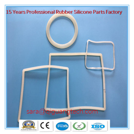 China Manufacturer Silicone Rubber Seal Rubber Gasket