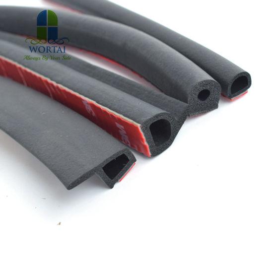 Car Edge Protector U-shape Rubber Auto Door Noise Insulation Sealing Strips Trim