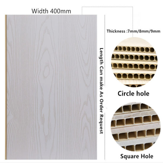 400mm Width Hard Quality PVC Panel Plastic Wall Panel for Interior Wall Decoration DC-477