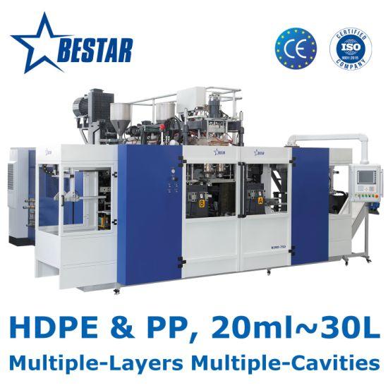 4L HDPE Engine Oil Bottle Automatic Blow Molding Machine
