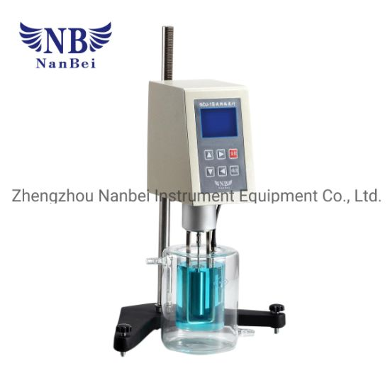 RS232 Interface Digital Rotational Viscometer for Testing Oil