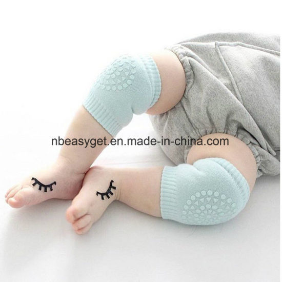Functional Baby Crawling Anti-Slip Knee Compression Sleeve Unisex Kneecap Coverage Multiple Colors Babyknee Pads Breathable Leg Warmer pictures & photos