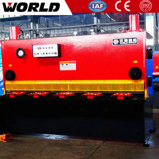 China Brand Guillotine Shearing Machine pictures & photos