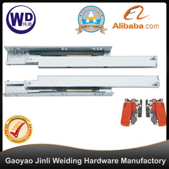 SL-2103 Tool Box Heavy Duty Two Way Travel Self Closing Dtc Drawer Slide Rail