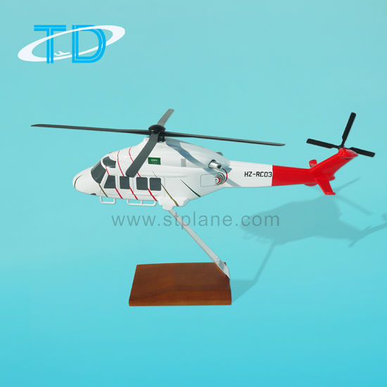 Ab-139 Helicopter Resin Model Business Gift
