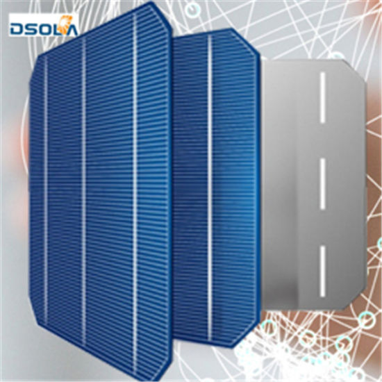 Dsola Online Auction Nickel Copper Cable Silicon Wafer for Solar Cell
