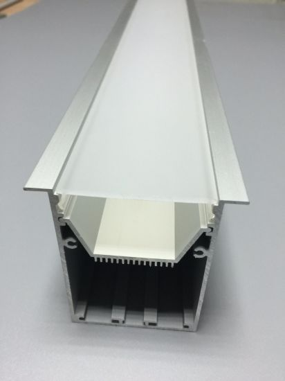10 or 20 x 2.5m Aluminium 11mm Recessed Profile Housing for LED Strip Lights