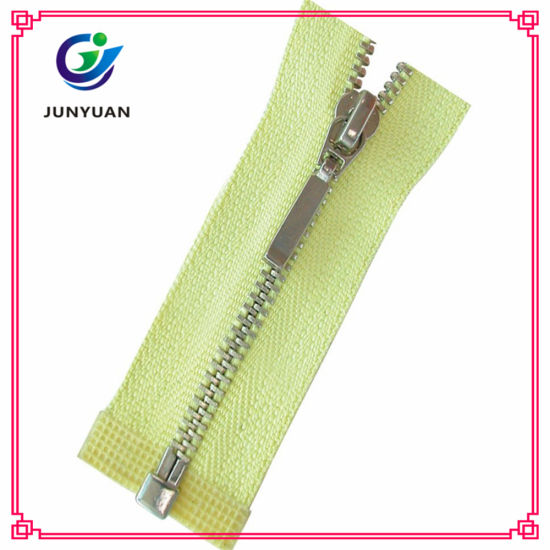 China Source Professional Factory Metal Zipper for Hotsale