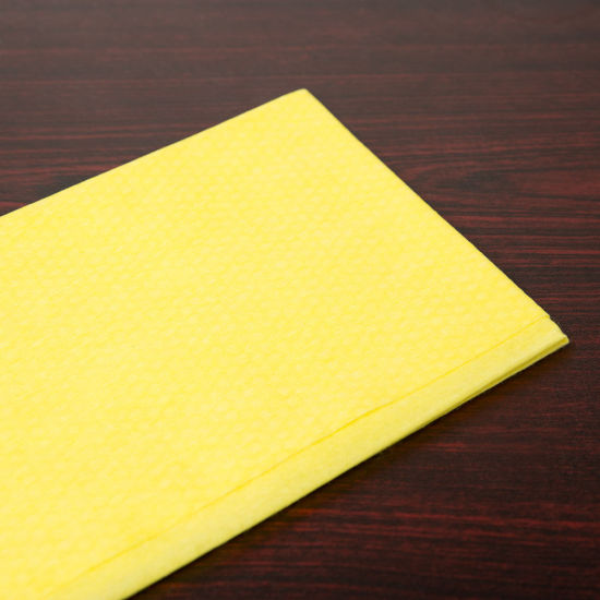 Disposable Non Woven Yellow Dusting Wiper Cloth