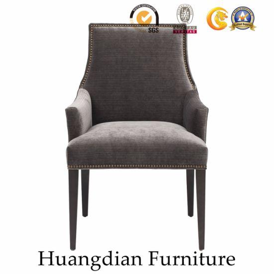 Modern Customized Wooden Restaurant Furniture Dining Chair Armchair (HD459)