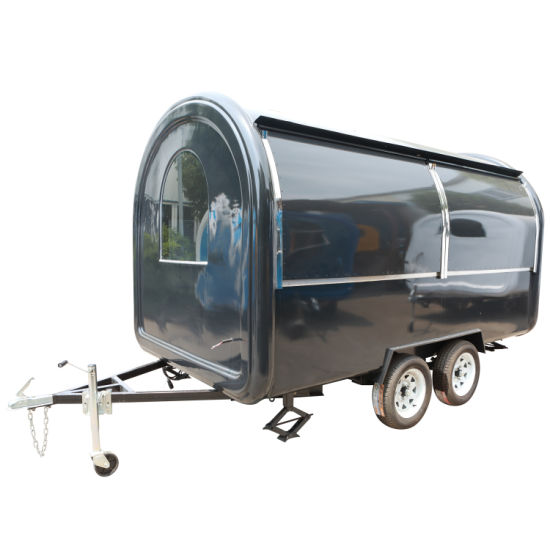 Tandem Axle Box Trailer Optional Different Kinds of Cage