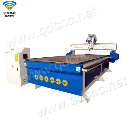 1530 CNC Router for Wood Door with Vacuum Table, 4.5kw Spindle Qd-1530b