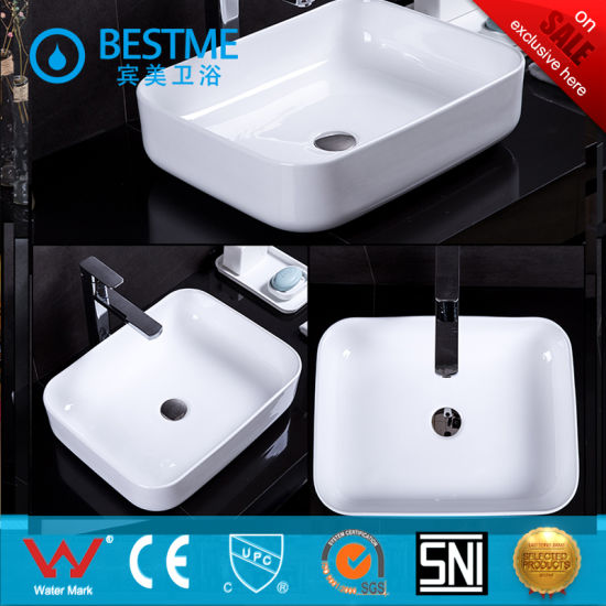 Foshan Bestme Pirce for Ceramic Art Basin for Bathroom Decoration pictures & photos