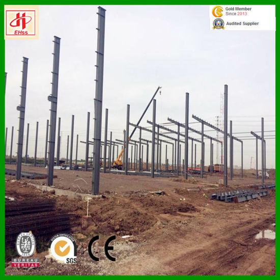 Steel Building Steel Workshop Steel Warehouse with BV/Ios9001/SGS Standard