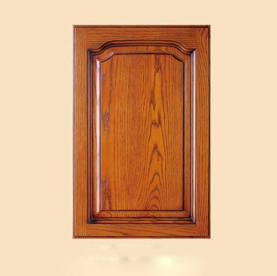 Beau Custom Replacement Kitchen Cabinet Doors Oak Cupboard Doors (GSP5 014)