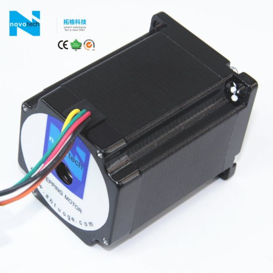 NEMA23 1.3n. M Low Heating Two Phase Stepper Motor 76mm pictures & photos