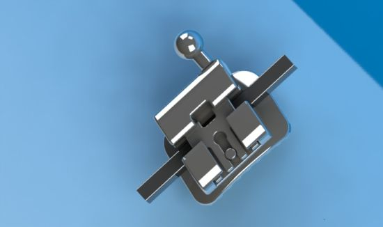 Orthodontic Self Ligating Mbt Bracket of Passive System Standard 0.022 with Hook on 3, 4, 5 pictures & photos