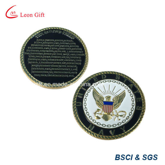 Factory Customized Metal Coin with Cut out Design pictures & photos
