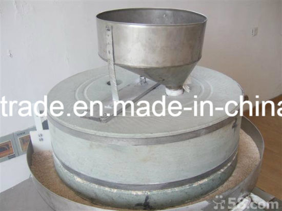 Automatic Wheat Stone Mill Wheat Flour Stone Milling Machine pictures & photos