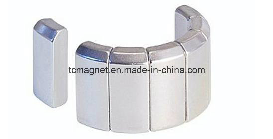 38sh Arc NdFeB Neodymium Permanent Magnet for Motor Asemblies pictures & photos