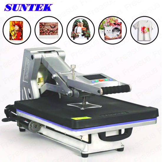 T-Shirt Heat Press Printing Small Heat Press Machine pictures & photos