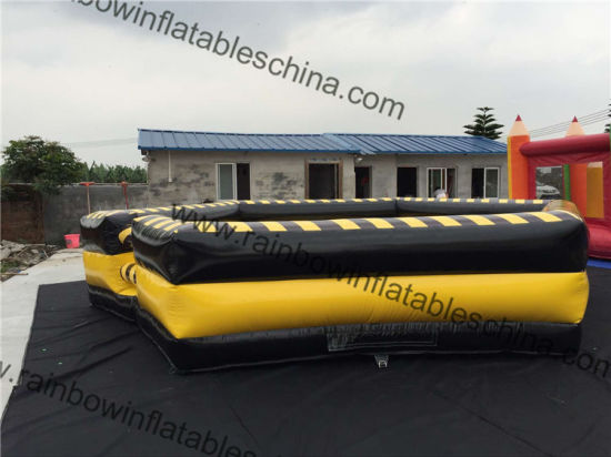 Supply 3 in 1 Inflatable Wipeout Course Mechanical Rodeo Bull for Sale pictures & photos