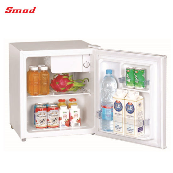 40-180L White Black Single Solid Door Upright Cold Freezer