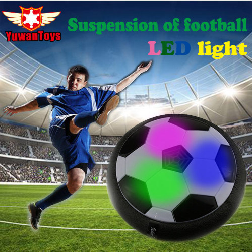 Hot Funny LED Light Flashing Arrival Air Power Soccer Ball Disc Indoor Football Toy in Box Multi-Surface Hovering Gliding Toy pictures & photos