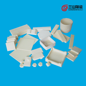 Alumina Ceramic Saggar with High Temperature Resistance pictures & photos