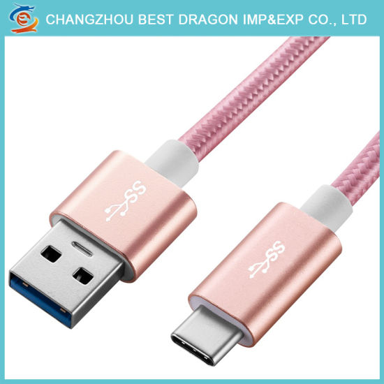 China Fast Charging USB 5 Wire Micro Mini 8pin Type C Cable for ...