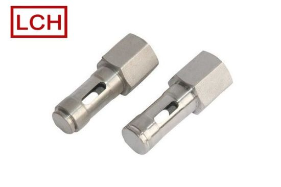 Custom Wholesale Cheap Price Aluminum Part/Threaded Aluminum Fitting in Chinese Factory