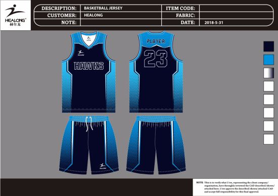5a6c56ccf80 Dri Fit Sublimation Basketbal Uniform with Amazing Design pictures & photos