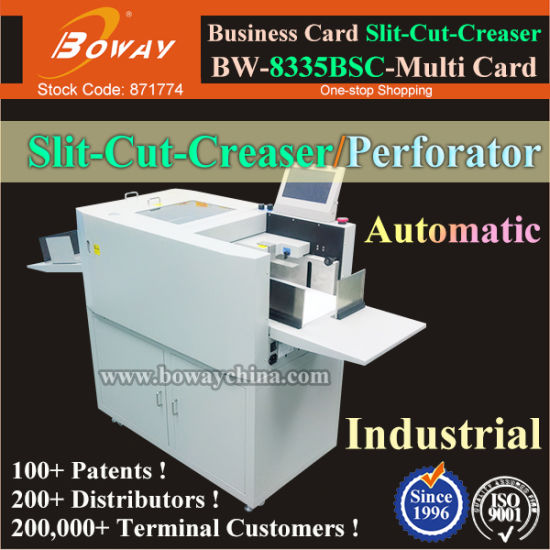 China full automatic a3 a4 paper namecard cutting slitting creasing full automatic a3 a4 paper namecard cutting slitting creasing perforating machine multi business name card cutter get latest price reheart Image collections