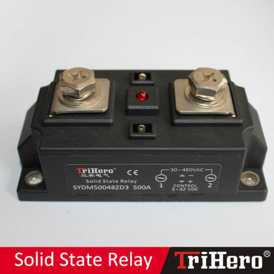 500A Industrial Class Solid State Relay, SSR-D500, DC/AC SSR pictures & photos