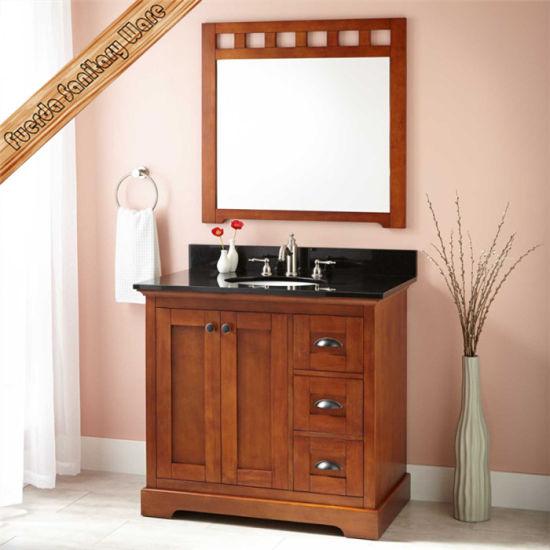 Fed 6037 Top Quality Bathroom Vanity High Cabinet