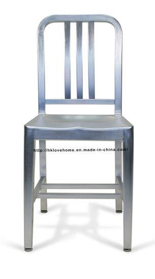 Emeco Dining Restaurant Coffee Aluminum Navy Chair