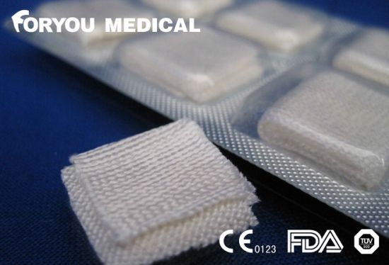 Surgical Premium Stop Bleeding Product CMC Gauze Dental Pad pictures & photos