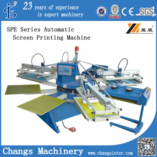 Pneumatic Textile Screen Printing Equipment (SERIGRAPHY) (SPE Series)