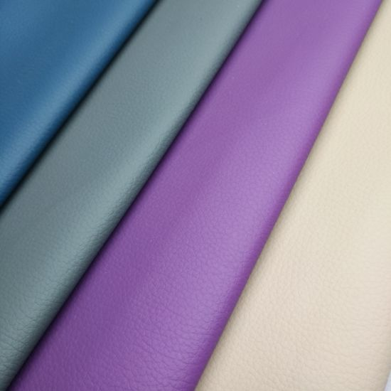 Popular for Europe Market PVC Leather Upholstery