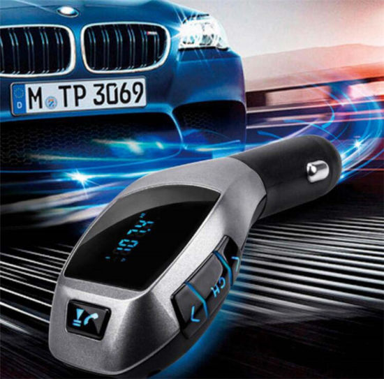 Handsfree Bluetooth Car Kit FM Transmitter with TF MP3 Player pictures & photos