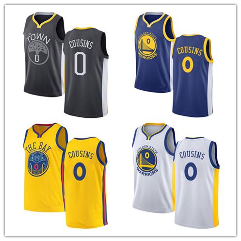cheap for discount 09aa0 a125d Men Women Youth Warriors Jerseys 0 Demarcus Cousins Basketball Jerseys